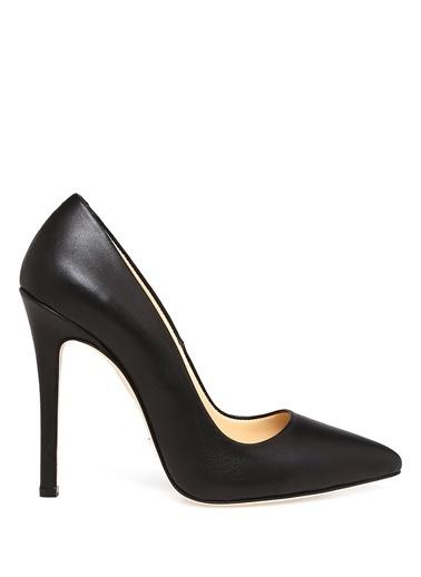 Beymen Collection Deri Stiletto Ayakkabı Siyah